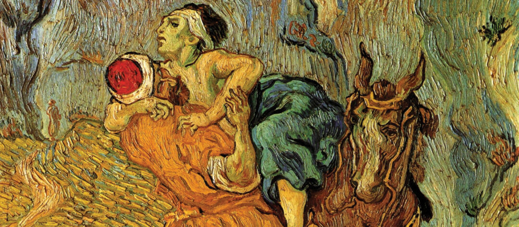 the-good-samaritan-after-delacroix-1890-Vincent-van-Gogh-1920x840