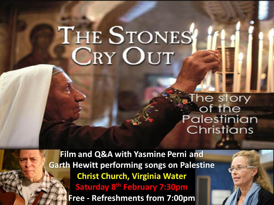 Stones Cry Out 8 February