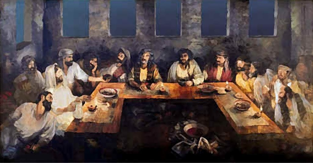 Triclinium Last Supper 01