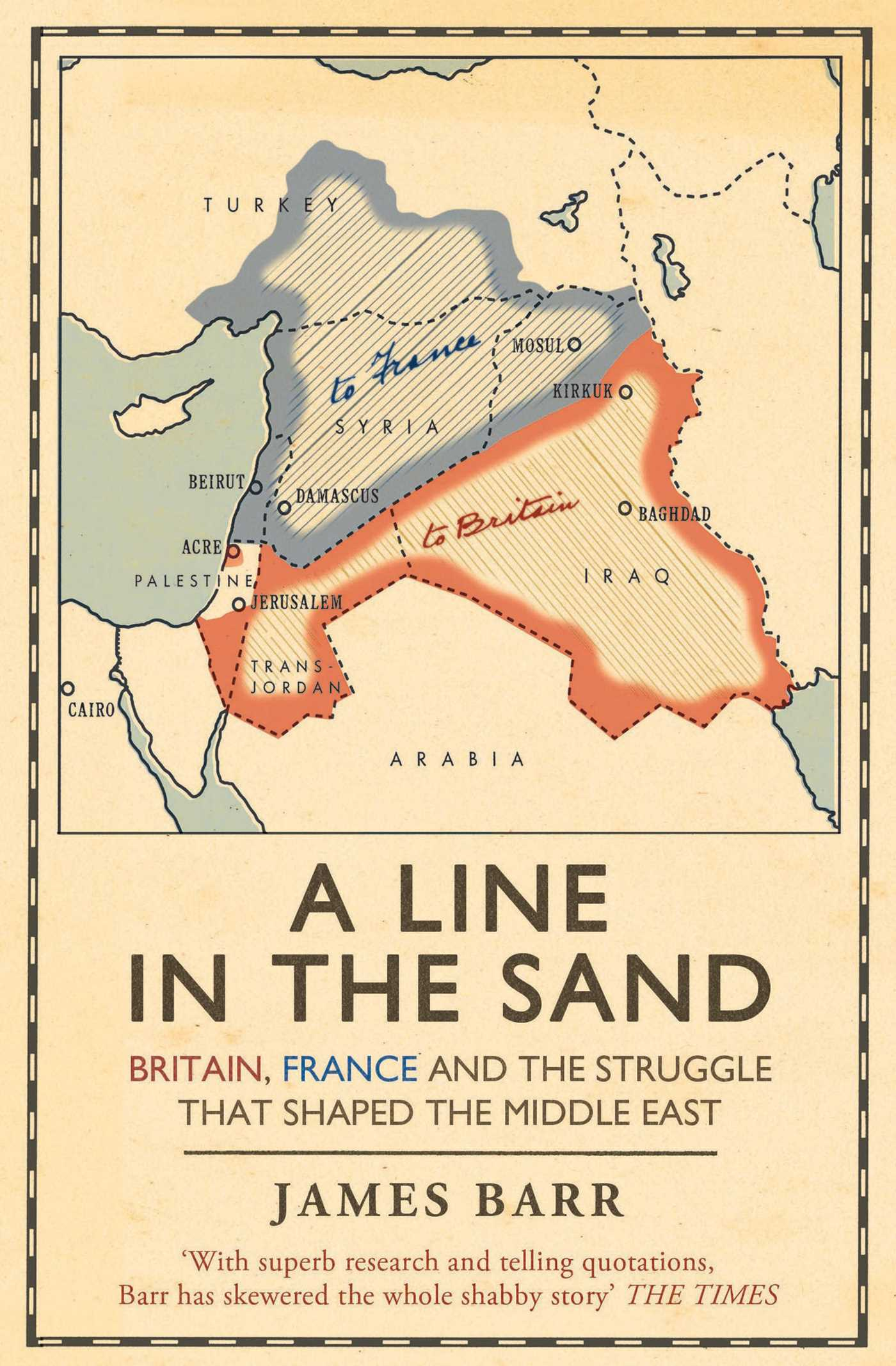 A Line In The Sand A Summary By Colin Chapman